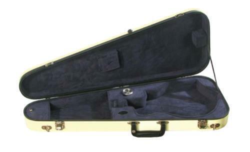 Bobelock 1029 Fiberglass Arrow Mandolin Case (B6-1029FBL)