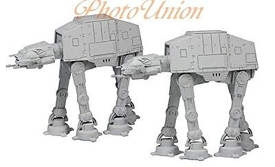 F-TOYS STAR WARS VEHICLE 7 AT-AT ALL TERRAIN ARMORED TRANSPORT x2 1:350 MODEL #1