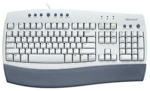 MICROSOFT INTERNET KEYBOARD - PS/2 - WITH MOUSE