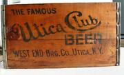 Wooden Beer Box