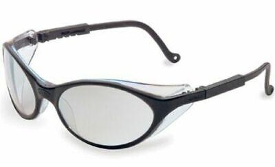 Uvex Bandit Safety Glasses Black Frame Sct Reflect 50 Gray Lens Usa