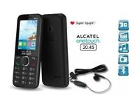 Alcatel One Touch 2045X UNLOCKED Sim Free For Any Network - Black