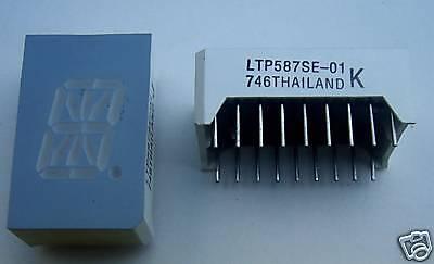 Liteon Ltp587se 16-segments 1-digit Displays 30 Pcs
