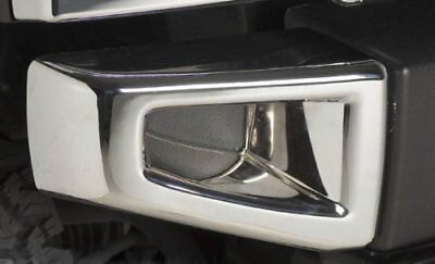 2003 Hummer H2 SUV SUT Triple Chrome Plated Front Bumper Corner Covers Set, used for sale  Shipping to Canada