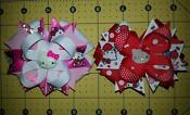 Hello Kitty Red Hair Bow