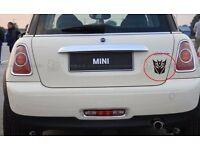 Transformers Decepticon Sticker for Car Laptop Macbook iPad Petrol Cap