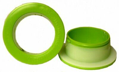 Hand Saver Dispenser For 12 - 18 Hand Wrap Green Spinner 3 Id Each - 1 Pair