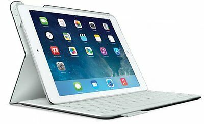 Logitech Fabric Skin Keyboard Folio for iPad Air, Carbon Black 920-005917 for sale  Shipping to India