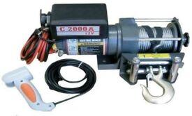 Warrior C2000A Utility Winch 12Volt