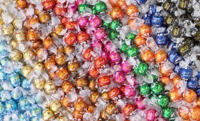 Boxed Truffle - Lindt Lindor Chocolate Truffles 8-10 Flavor Assorted Truffle Box 100 Truffles