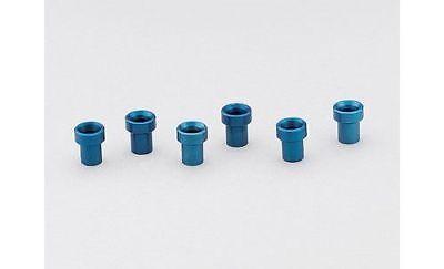 Aeroquip -03AN Dash Size Tube Sleeve Aluminum Blue (6 PK)-FBM3669 ()
