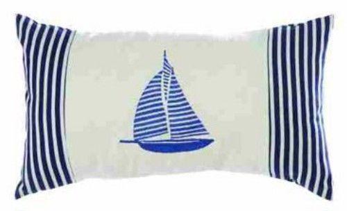 Sailboat Pillow Ebay