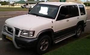 1998 Holden Jackaroo Wagon manual East Maitland Maitland Area Preview