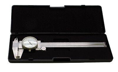 Metric Dial Caliper Vernier Micrometer 150mm 15cm Stainless Hardened. D8010