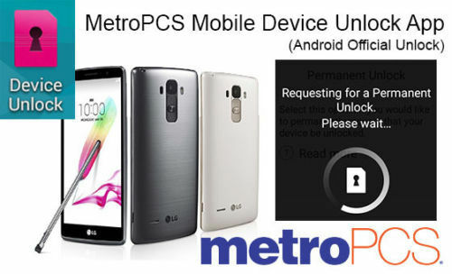 METROPCS DEVICE UNLOCK APP HTC SAMSUNG LG KYOCERA ALCATEL
