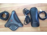 Polycom VoiceStation 300 Conference Phone Telephone. Complete System. FREE DELIVERY