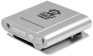 Pyle-Home Bass Boost Portable Headphone Amplifier, Silver PHE5AS