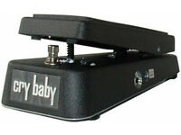 Jim Dunlop Cry Baby Wah Guitar FX pedal model GCB 95 excellent condition