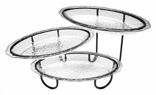 3 tier server home garden ebay. Black Bedroom Furniture Sets. Home Design Ideas