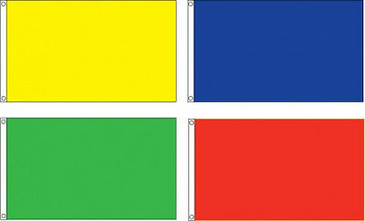 Solid Color Blank Flags 12