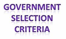 Selection Criteria – $30 per criteria Brisbane City Brisbane North West Preview