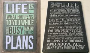 Enseignes ''Life''