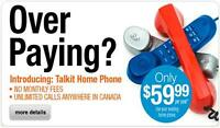 Only $100 for Phone Service for the Year Free Canada Calling