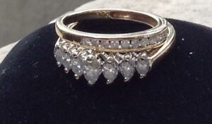 .80 carats marquis diamond engagement or anniversary ring.