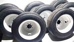 Trailer Tires (6000 lb) 235/75R17.5 (16ply) Tire and Rim Combo