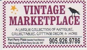 Chantal's Antiques at the Port Perry Vintage Marketplace Mall
