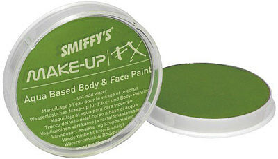 Make-Up Gesicht und Body Paint lind-grün NEU - Styling Schminke Karneval Faschin