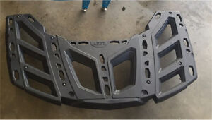 Can-am outlander rack and skid plate