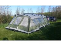 Outwell Vermont XL 7 **PLUS CAMPING ACCESSORIES**MUST SEE BARGAIN**