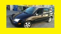 2005 FORD FOCUS ZX5 5 SPEED LEATHER PW LOCKS FULL SAFETY