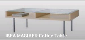 IKEA magiker coffee and end tables