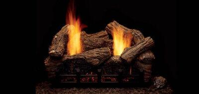 Monessen Highland Oak Vent Free Gas Logs - 18
