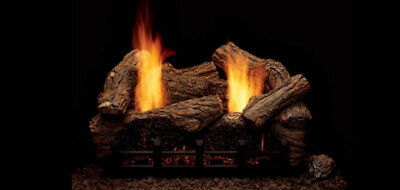 Monessen Highland Oak Vent Free Gas Logs   24    Propane Gas