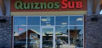 Franchised Quiznos Sub Sandwich Restaurant for Sale in Airdrie