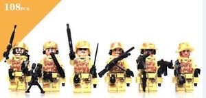 LEGO CUSTOM Brick Weapons, Gear, Accessories, Minifigures