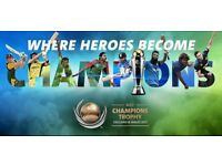 ICC CHAMPIONS TROPHY FINAL TICKETS 8 SILVER TICKETS, CHEAPEST PRICE ANYWHERE !