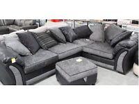Left hand Farrow sofa pillow back - brand new
