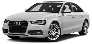 2015 Audi A4 2.0T Progressiv LOCAL TRADE, 1 OWNER, NAV, KEYLE...