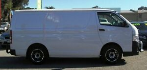 2012 Toyota Hiace TRH201R MY12 LWB White 4 Speed Automatic Van Bellevue Swan Area Preview