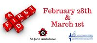 St Johns First Aid Course
