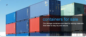 40' and 20' Shipping and Storage Containers(SeaCans) - On Sale