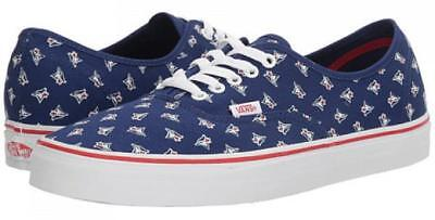 Vans Toronto Blue Jays MLB Authentic Sneaker Limited Edition Shoes Navy Blue
