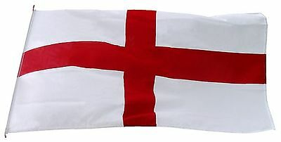3FT x 2FT Large England St George Cross National Flag Football Sport Pub Support
