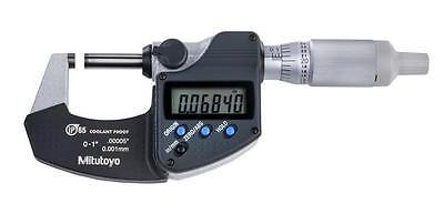 Mitutoyo 293-344-30 Digimatic Micrometer 0-10-25mm Range .000050.001mm Reso