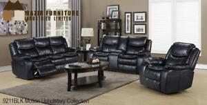 Black Recliner Set with 5 recliners on Sale (BD-2460)