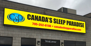 TWIN MATTRESS ONLY $60 @ CANADA'S SLEEP PARADISE!